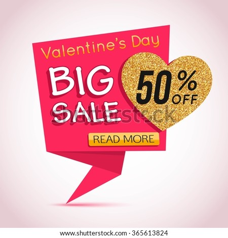 Big Sale banner. Big Sale Gold Banner. Special Offer banner. Template for advertising poster, brochure, flyer, banner, header, poster and advertising companies. 50% Discount Banner. 50s. 50% off.  - stock vector