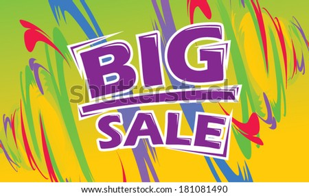 Big Sale Promotion Background