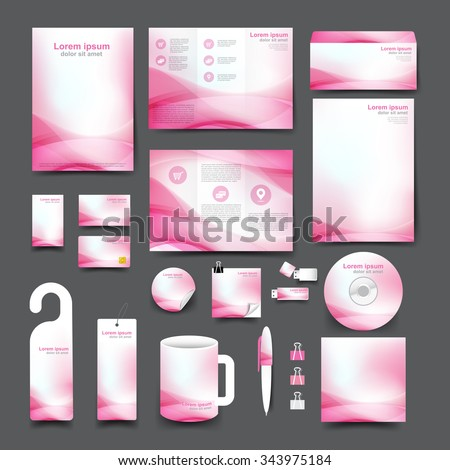 trifold business card template