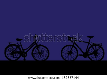 bike  - stock vector