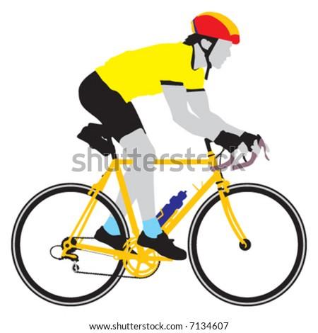 bike - stock vector