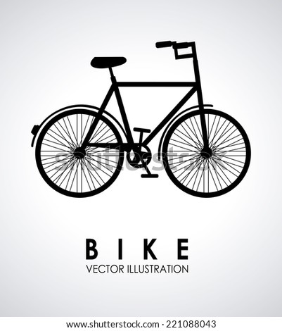 bike graphic design , vector illustration