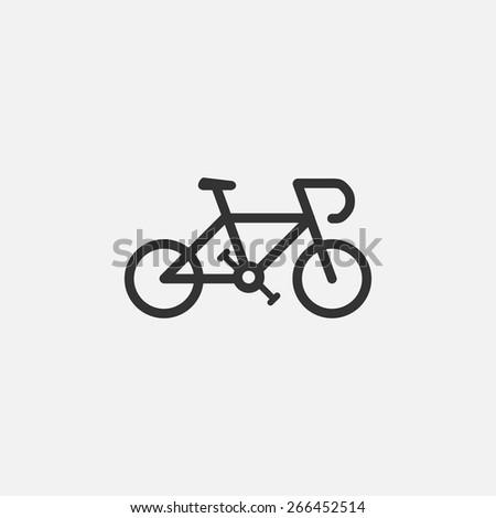 bike icon - stock vector