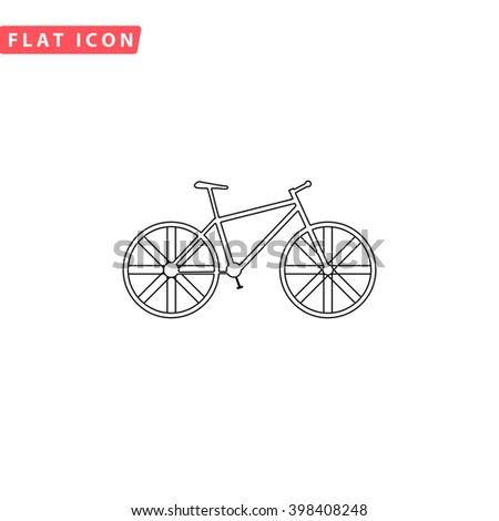 Bike Icon.  - stock vector