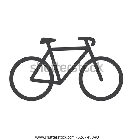 bike icon bike vector isolated on stock photo photo vector rh shutterstock com victor cycles victor bicycles