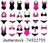 Bikini fashion - stock vector
