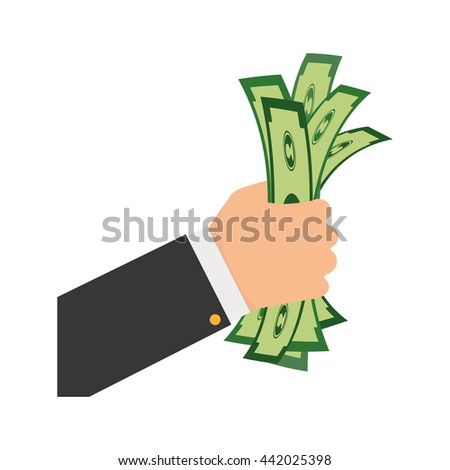 bill  icon. Financial item design. vector graphic