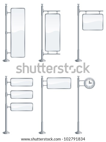Billboard - stock vector