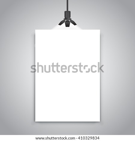 billboard for advertising - stock vector