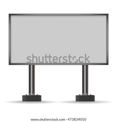 billboard for advertising. vector
