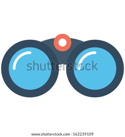 binoculars icon vector - photo #18
