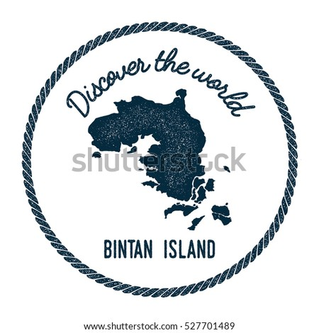 Bintan island map vintage discover world stock vector hd royalty bintan island map in vintage discover the world rubber stamp hipster style nautical postage bintan gumiabroncs Choice Image