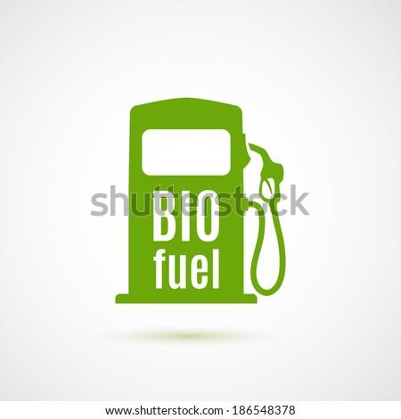 Bio fuel pump. Vector illustration - stock vector