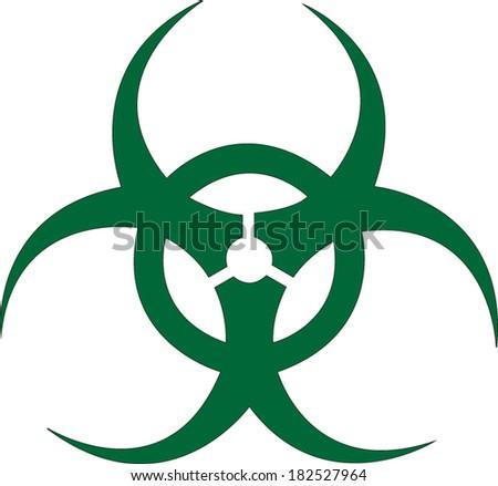 Biohazard Symbol  - stock vector