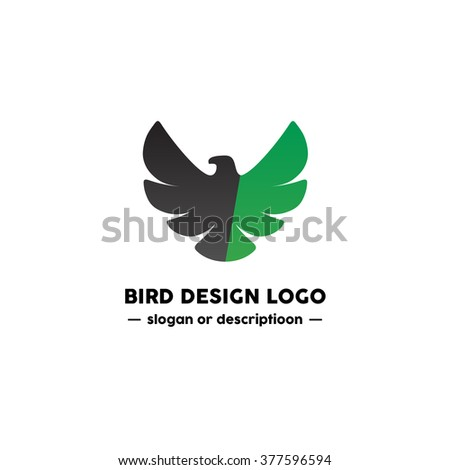 Fun Beauty Isolated Cartoon Geek Eagle Stock Vector