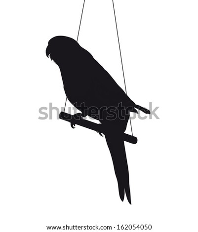 Parrot silhouette Stock Photos, Images, & Pictures ...