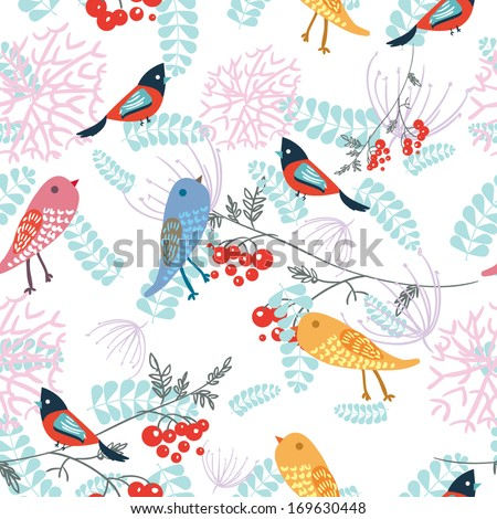 bird texture - stock vector