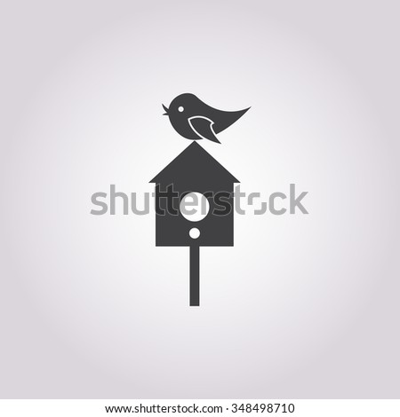 Birdhouse icon.