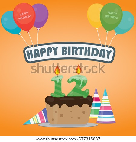 12 Birthday Stock Photos, Royalty-Free Images & Vectors ...