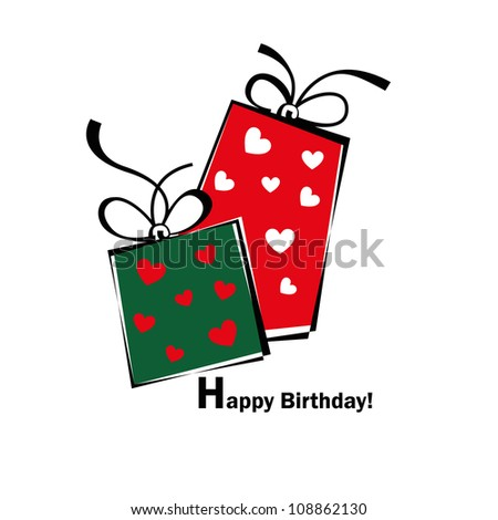 Birthday card, gift card, gifts ideal for valentine and Christmas