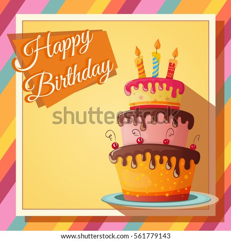Birthday Card Images RoyaltyFree Images Vectors – Picture Birthday Card