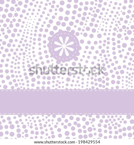 Birthday greeting card - stock vector