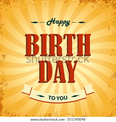 Birthday Wishes Images RoyaltyFree Images Vectors – Birthday Wish Template