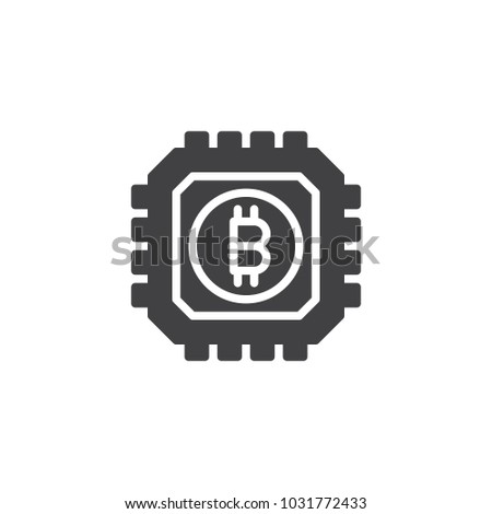 Bitcoin Miner Asic Chip Litecoin White Logo – All Valley Media LLC