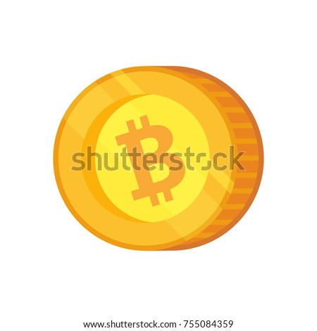 Bitcoin Cash Vector Icon Cryptocurrency With Huge Market Capitalization Based On Blockchain Technologie