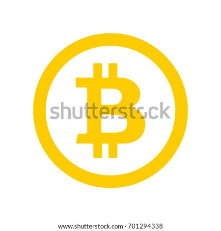 bitcoin flat logo stock images, royalty-free images & vectors