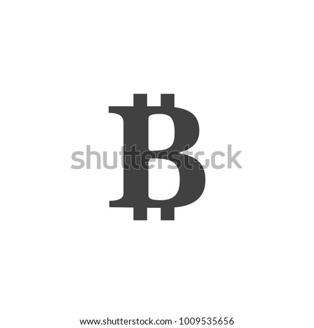Bitcoin Icon Symbol Coin Crypto Stock Vector 1009535656 Shutterstock