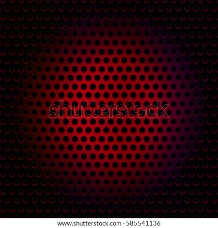 Black And Red Metallic Background Abstract Wallpaper Vector Illustration