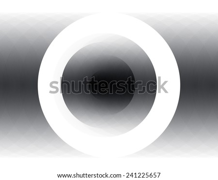 Black and white abstract geometric background for design template