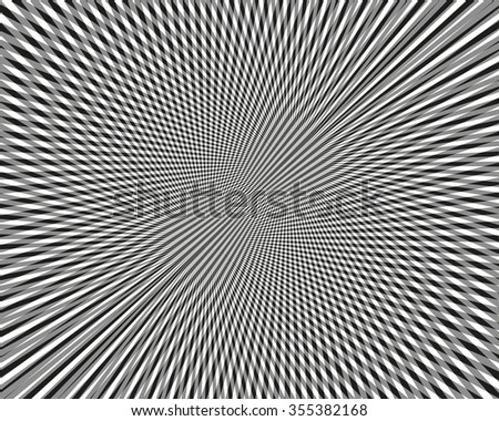 Black and white abstract pattern. Vector illustration.