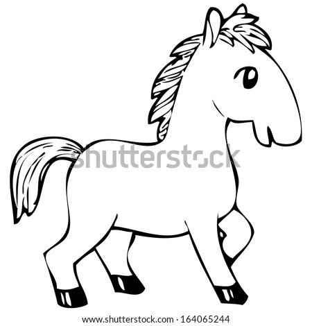 Skeleton gun tattoo coloring pages for Black and white horse coloring pages