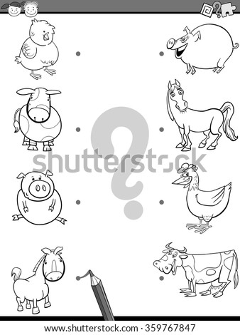 math worksheet : animal brain quot; stock photos royalty free images  vectors  : Animals And Their Babies Worksheets For Kindergarten