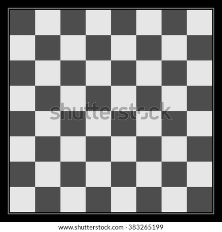 Black White Chess Board Template Design Stock Vector HD (Royalty ...