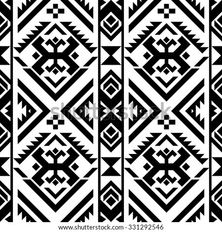 Black White Color Tribal Navajo Seamless Stock Vector (Royalty Free on database design wallpaper, visual design wallpaper, windows design wallpaper, logo design wallpaper, web design wallpaper, graphic design wallpaper, basic design wallpaper, revit design wallpaper, ui design wallpaper,