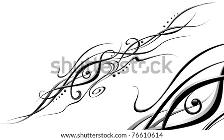 Black and white contemporary background. Illustration for design