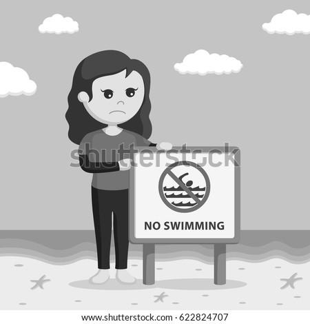 no lifeguard stock images royaltyfree images amp vectors