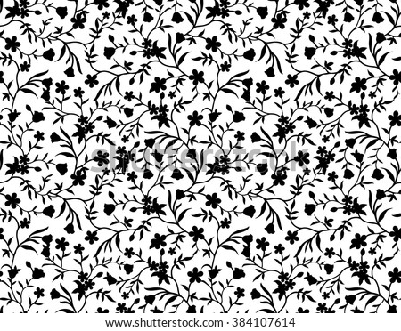 black and white floral designs stock images royaltyfree
