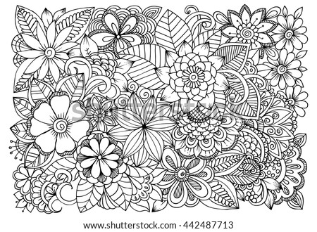 Art therapy coloring pages for s coloring page for Therapeutic coloring pages for children