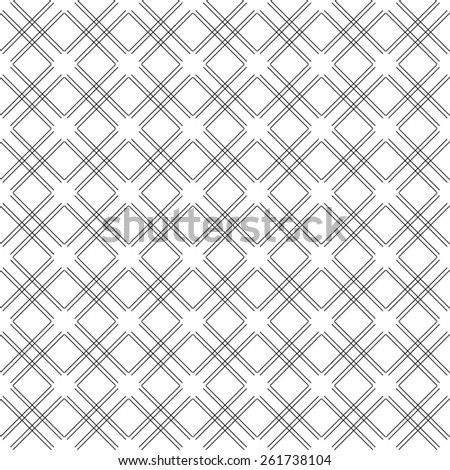 Black and white geometric seamless pattern modern stylish. Abstract background. Vector seamless pattern.