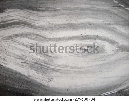 Black and white hand drawn wooden texture. - stock vector