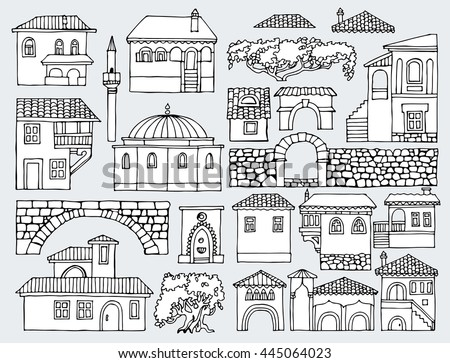 Shaped bushes stock images royalty free images vectors for House shapes and styles