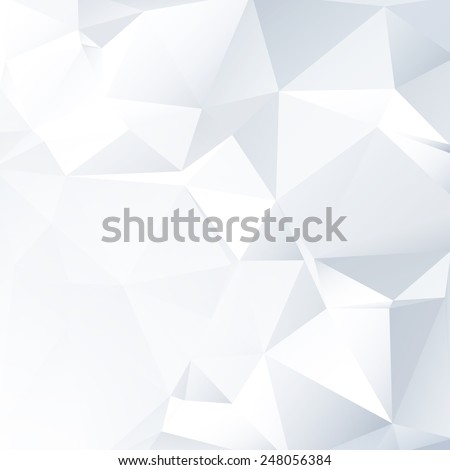 Black and White Lowpoly Vector Background | EPS10 Design - stock vector