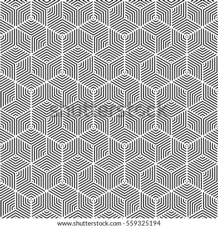 black and white pattern,background line geometric,modern stylish texture,vector