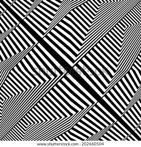 Black And White Pattern Vector 68