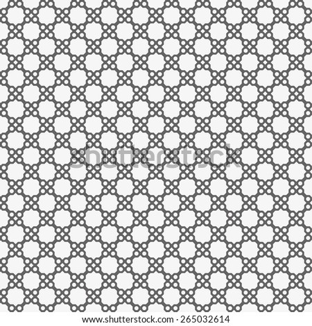 Black and white seamless pattern. - stock vector