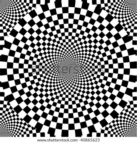 Black and white. Seamless pattern. - stock vector